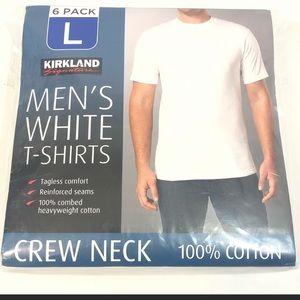 Men's White T-Shirts 3-pack NWT